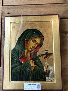 Greek Icon * Mater Dolorosa - Virgin Mary of Sorrows