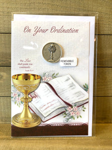 Ordination Card with Token