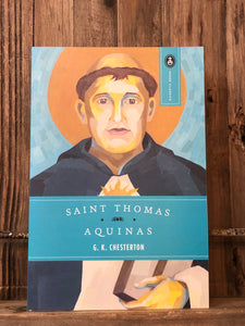Saint Thomas Aquinas : the Dumb Ox by G. K. Chesterton
