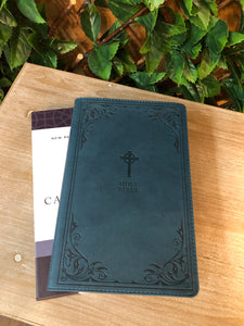 NRSV, Catholic Bible, Gift Edition, Leather-soft, Teal