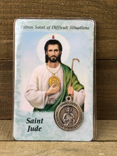 Load image into Gallery viewer, Healing Prayer Card - Saint Jude