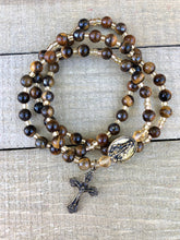 Load image into Gallery viewer, Rosary Twistable Bracelet - Jasper