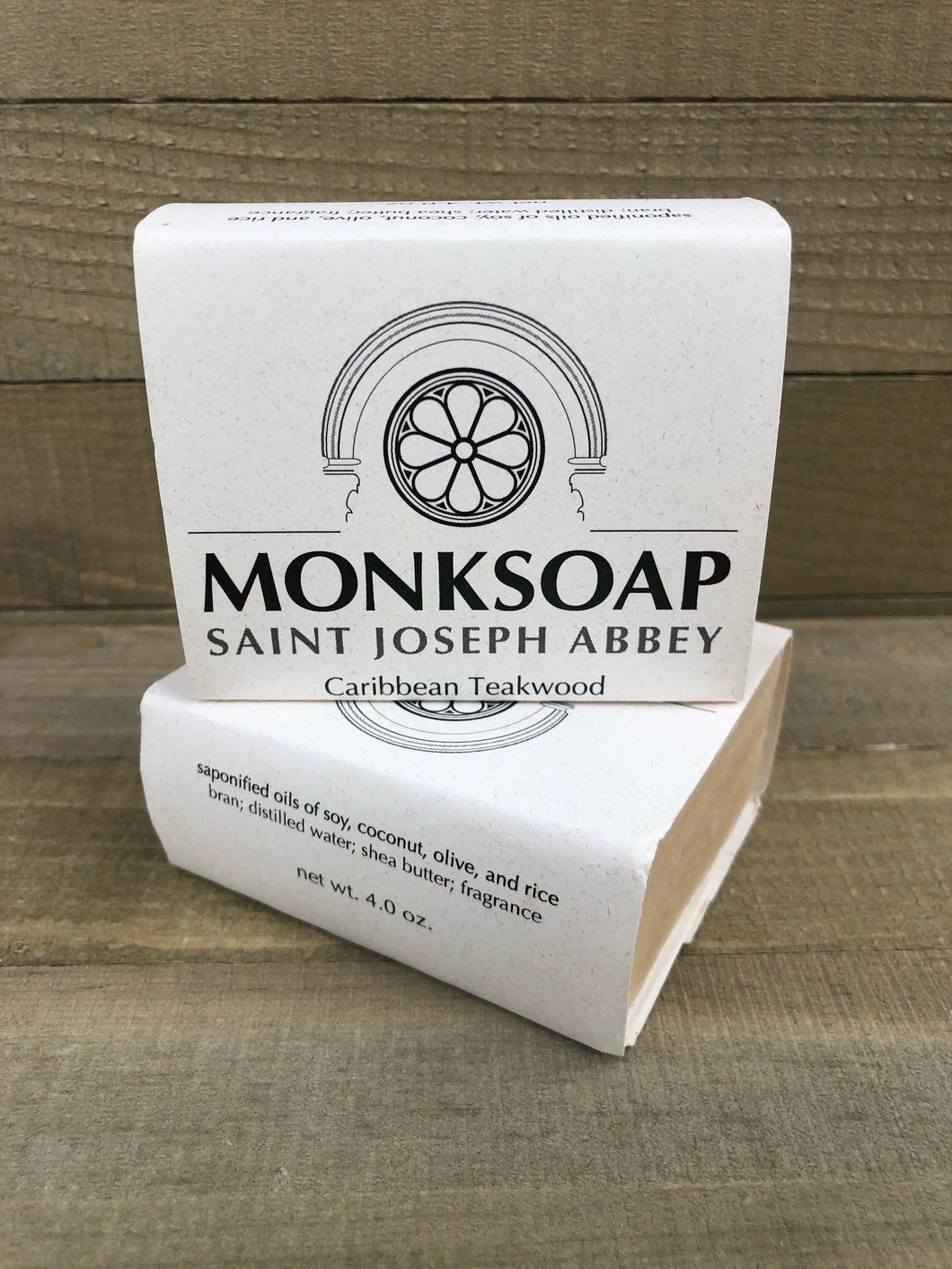 Monk Soap * Caribbean Teakwood