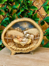 Load image into Gallery viewer, Baby Jesus with Lamb Figurine