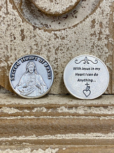 Token - Sacred Heart of Jesus