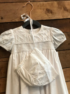 Baptism Gown and Cap