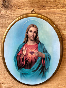 Italian Art * Sacred Heart of Jesus