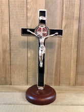 Load image into Gallery viewer, Crucifix - St Benedict/Base