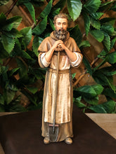 "Load image into Gallery viewer, St Fiacre 8"" Statue"