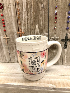 Mug - Coffee and Jesus