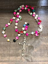 Load image into Gallery viewer, Rosary * Multi Color Stone
