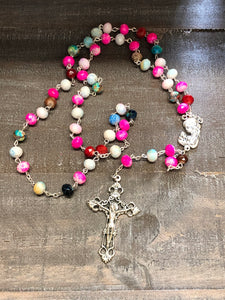 Rosary * Multi Color Stone