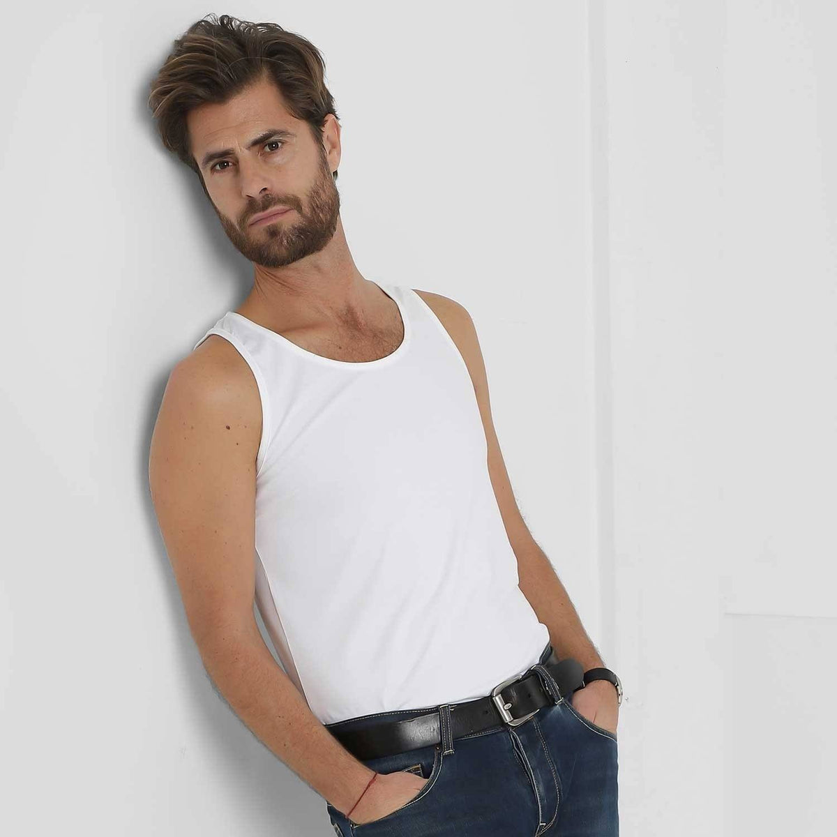 Naples – White Tank Top – T-Shirts – Sumisura