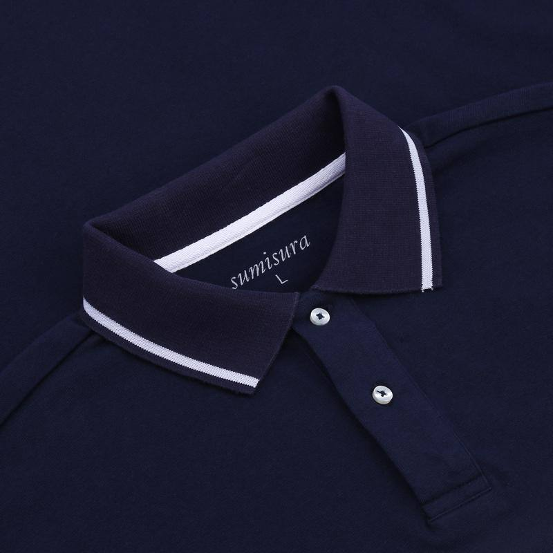 Hurlingham – Navy Polo Shirt – Poloshirts – Sumisura