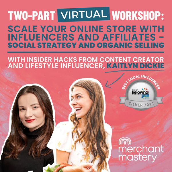 Scale your online store with influencers and affiliates