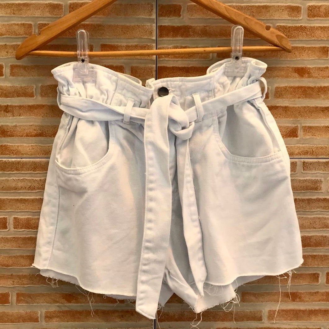 Short clochard branco - 36