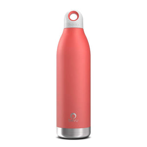 Bevu® DUO Insulated Bottle Coral.   550ml / 18oz