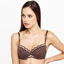 Load image into Gallery viewer, Lace Padded Balcony Bra Lavinia
