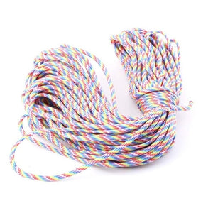 550 Parachute Cord Mil Spec Type III 7 Core Strand 101FT 10 colors