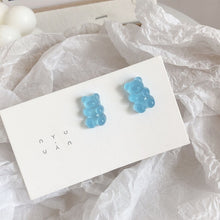 Load image into Gallery viewer, 1 Pair Cartoon Gummy Bear Earrings