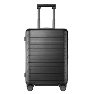 NINETYGO 90FUN Carry On Luggage 20 inch Spinner Lightweight Hardshell PC Suitcase with TSA Lock for Travel Business Black