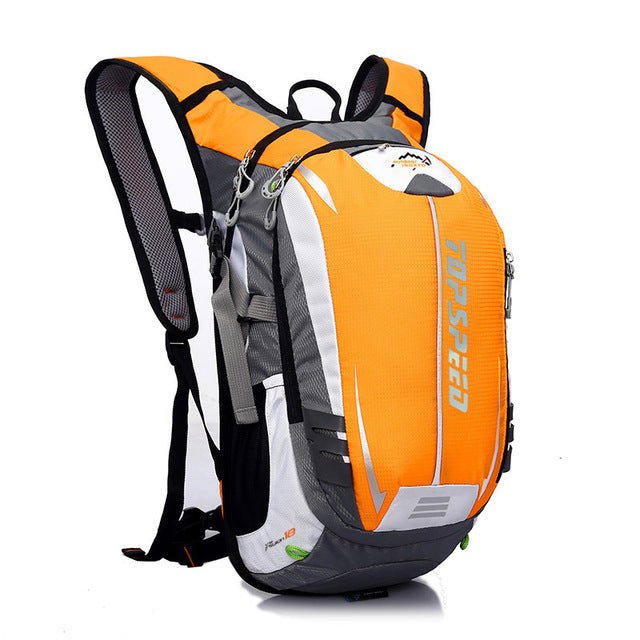 Hot 18L Waterproof Climbing Hiking Backpack Cover Bag Camping Mountaineering Backpack Sports Outdoor Bike Bag Men Women