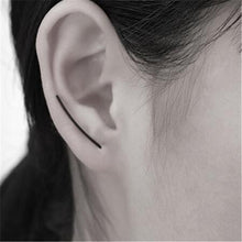 Load image into Gallery viewer, Lusion Jewelry Wholesale 2016 New Design Fashion Vintage U-shaped Alloy Stud Earrings Best Gift For Woman Hot Sale SJ-ED37