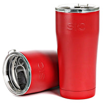 Load image into Gallery viewer, 20 oz. Matte Gameday Red