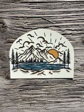 Load image into Gallery viewer, Sunrise Mountain Sticker