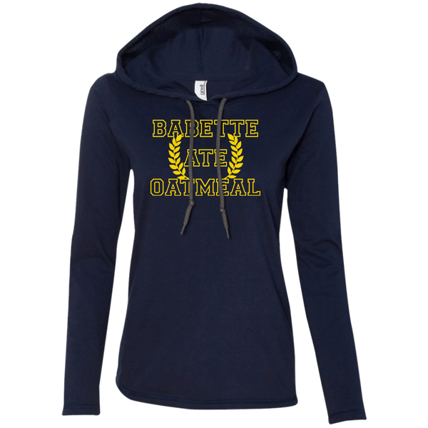 Gilmore Girls Babette Ate Oatmeal Ladies Hoodie