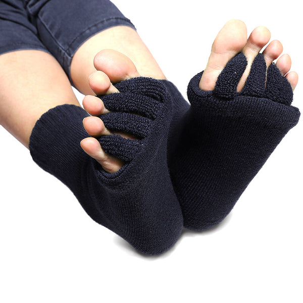 Sattva Soles Hot Massage Five Toe Separator Socks