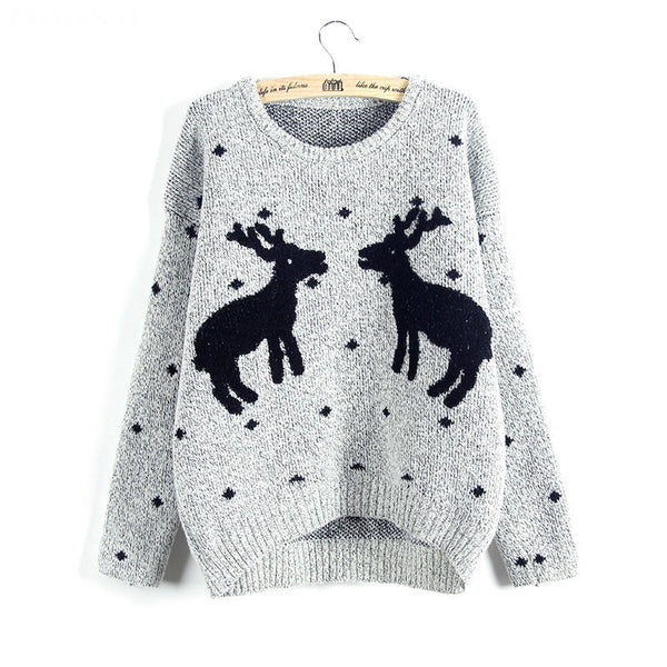 Stars Hollow Reindeer Sweater