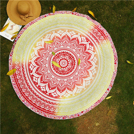 Yoga Mandala Blanket Towel