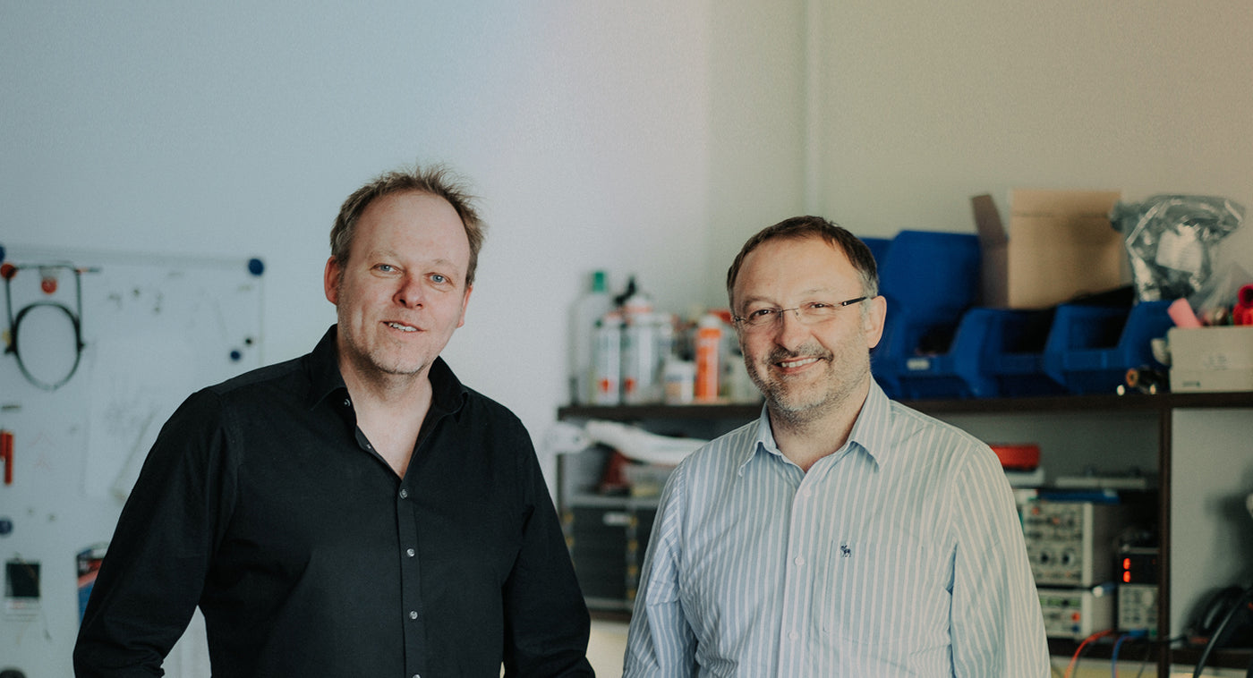 Michael Pahl and Dirk Bauer, the founders of FUN FACTORY