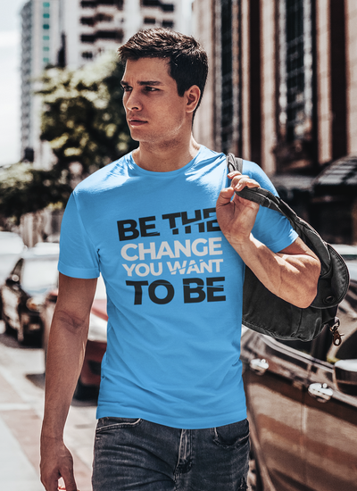 Be The Change Regular Fit T-Shirt