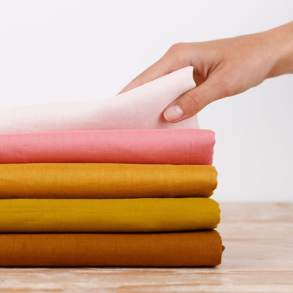 linen sale stack - The Fabric Store Online