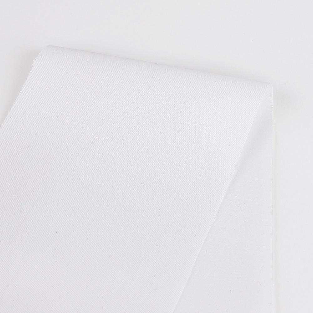 Cotton Twill - WhiteCotton Twill - White