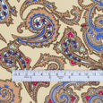 Baroque Paisley Viscose Twill - Buy online at The Fabric Store