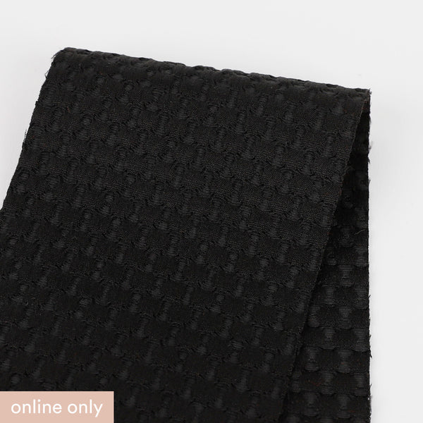 Bubble Jacquard - Black