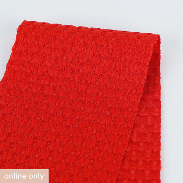 Bubble Jacquard - Red