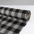 Japanese Check Tweed - Grey