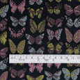 Butterfly Jacquard - Navy / Pink / Yellow