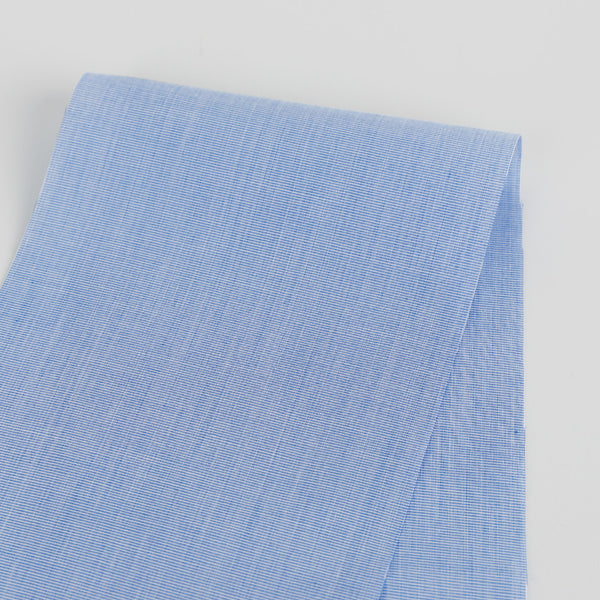 Classic Cotton Shirting - Blue