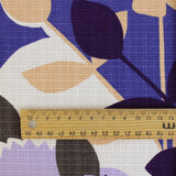 Collage Print Cotton - Purple - buy online at The Fabric Store