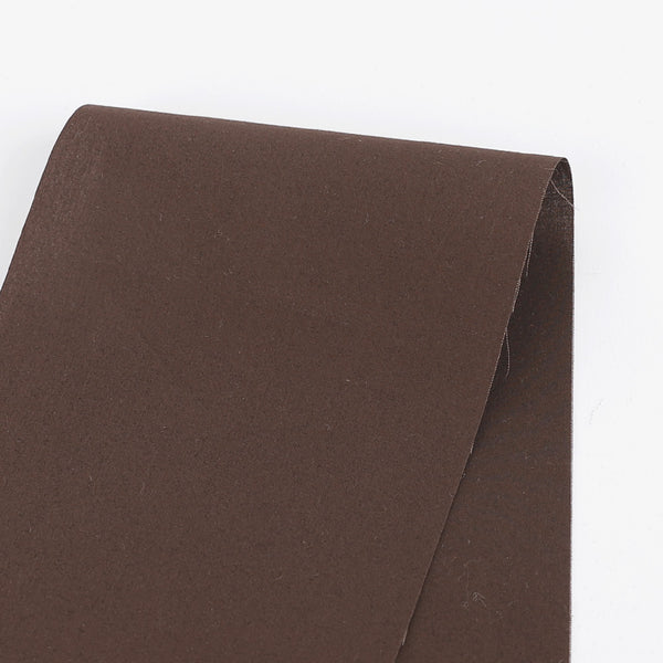 Cotton Shirting - Chocolate