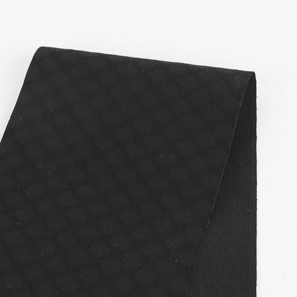 Cotton Spot Shirting - Black - buy online at The Fabric Store
