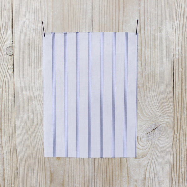 Triple Stripe Cotton Shirting buy online at The Fabric Store