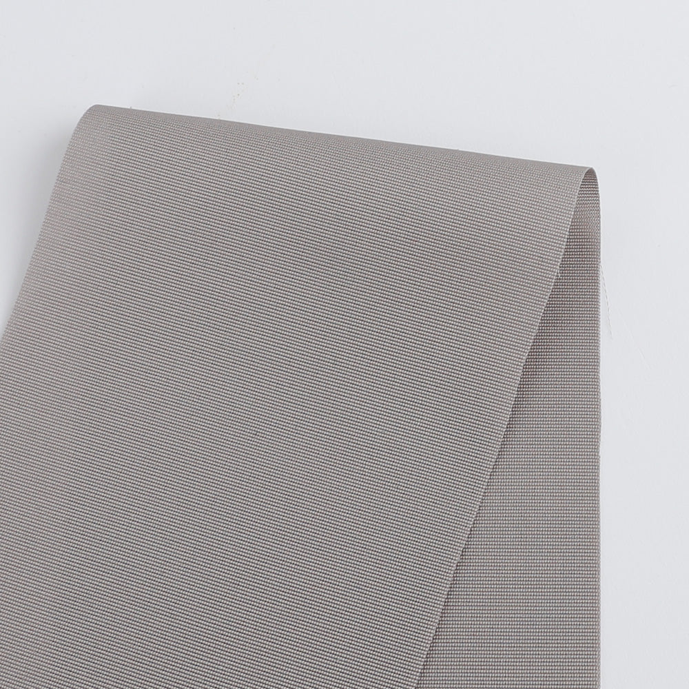 Cotton / Viscose Grosgrain - Elephant Grey - buy online at The Fabric Store