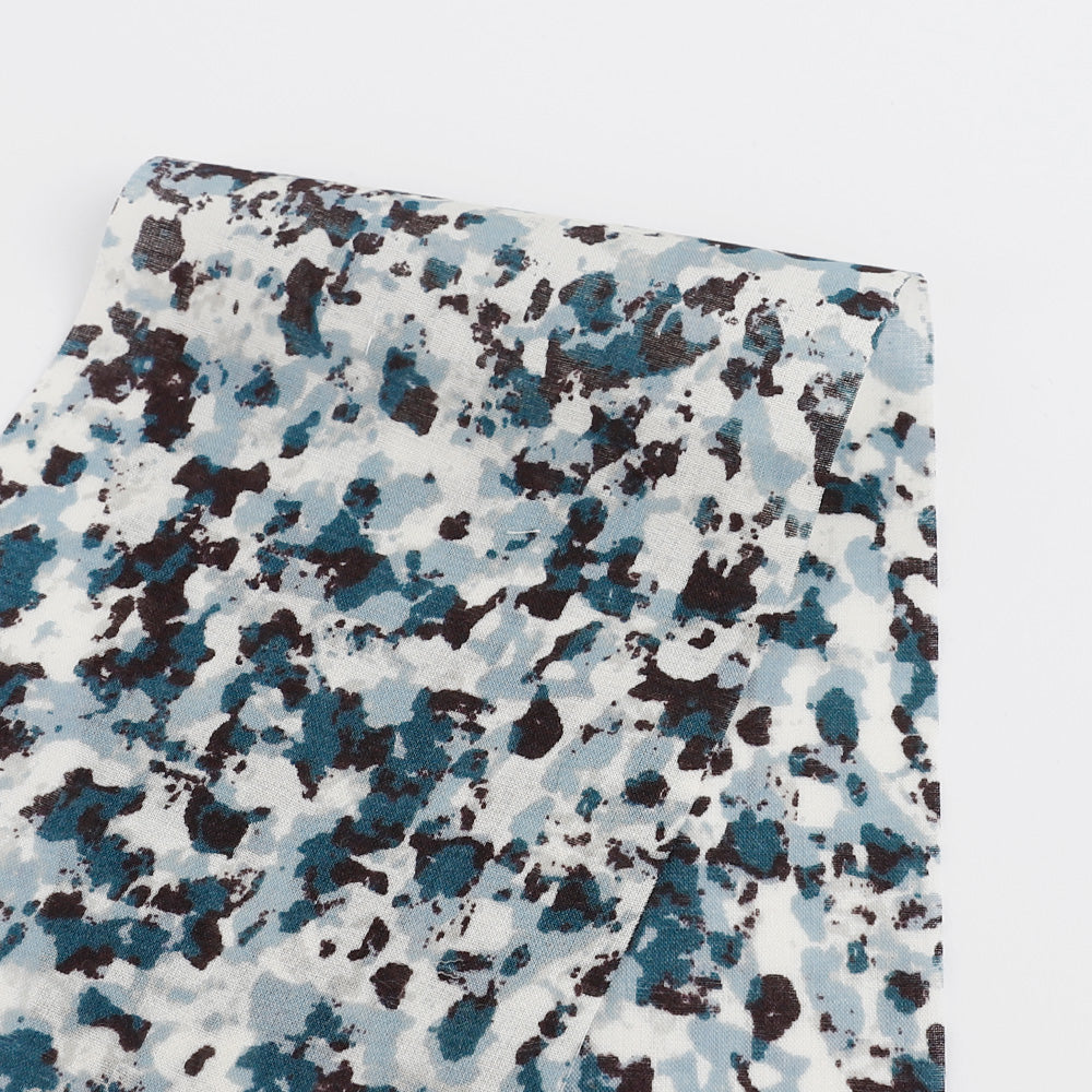 Dappled Print Cotton - Blue - buy online at The Fabric Store