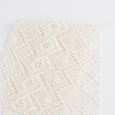 Diamond Guipure Lace - Ivory - buy online at the Fabric Store